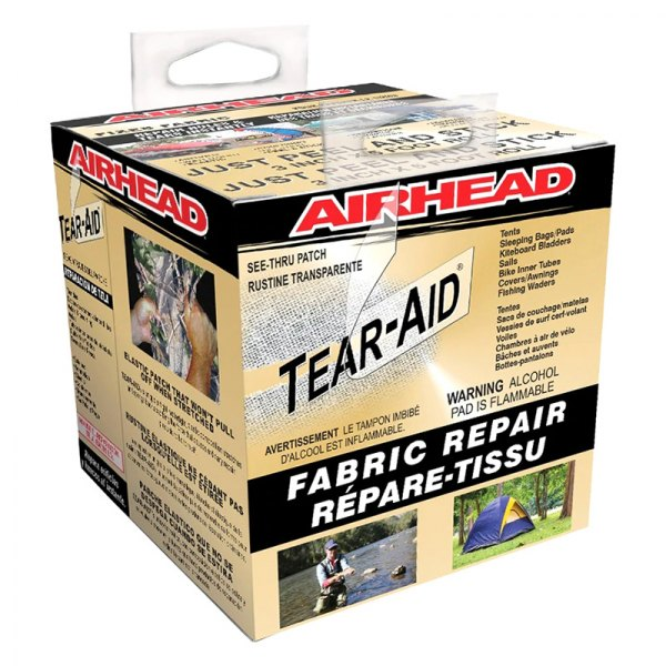 Airhead Tear AID Repair Kit Roll Kwik Tek Inc Type A Fabric AHTR-1A-R