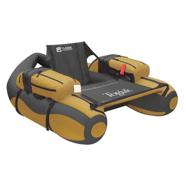 "Classic Accessories® - Togiak™ 55.25""L x 47""W x 19""H Gold/Gray Float Tube"