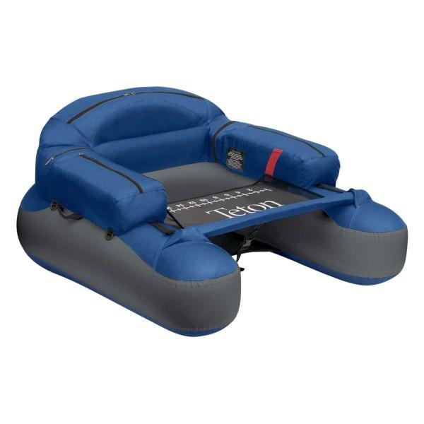 """Classic Accessories® - Teton™ 42.5""""L x 40""""W x 18.5""""H Blue/Gray Float Tube"""