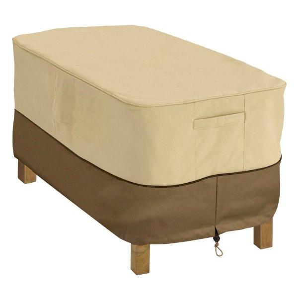 "Classic Accessories® - Veranda™ Rectangular Pebble Patio Coffee Table Cover (48""L x 25""W x 18""H)"
