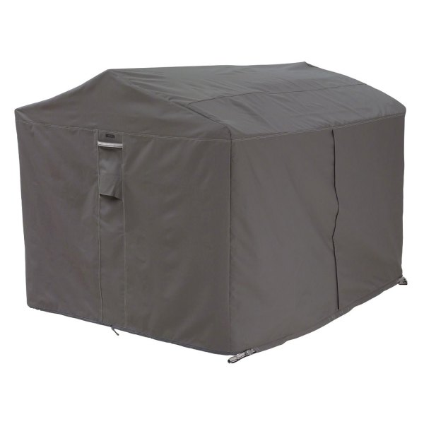 "Classic Accessories® - Ravenna™ Water-Resistant Rectangular Dark Taupe Patio Canopy Swing Cover (78""W x 60""D x 72""H)"