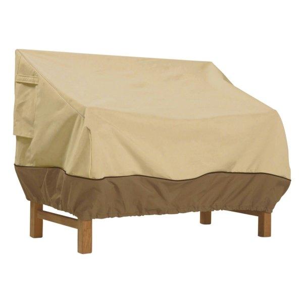 """Classic Accessories® - Veranda™ Rectangular Pebble Patio Sofa/Loveseat Cover (104""""W x 32.5""""D x 31""""H)"""