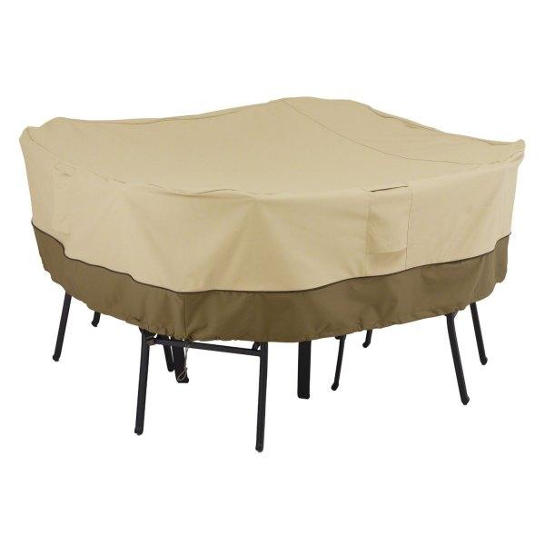 """Classic Accessories® - Veranda™ Square Pebble Patio Table & Chair Set Cover (66""""L x 66""""W x 23""""H)"""