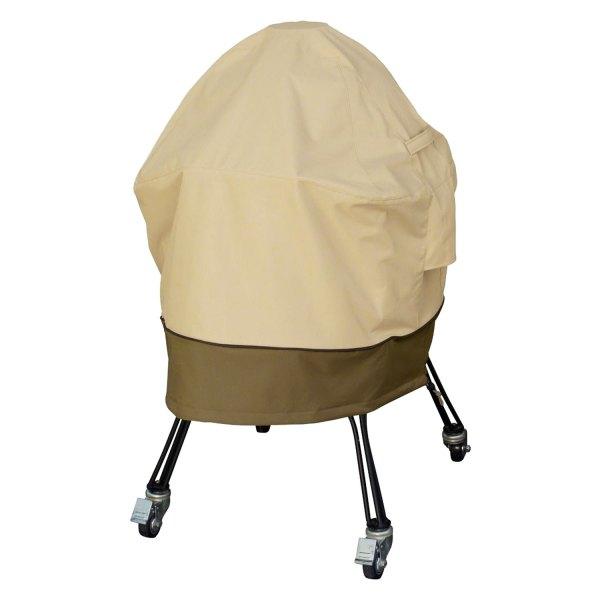 Classic Accessories® - Veranda™ Pebble Large Kamado Grill Cover for Big Green Egg™ Grill