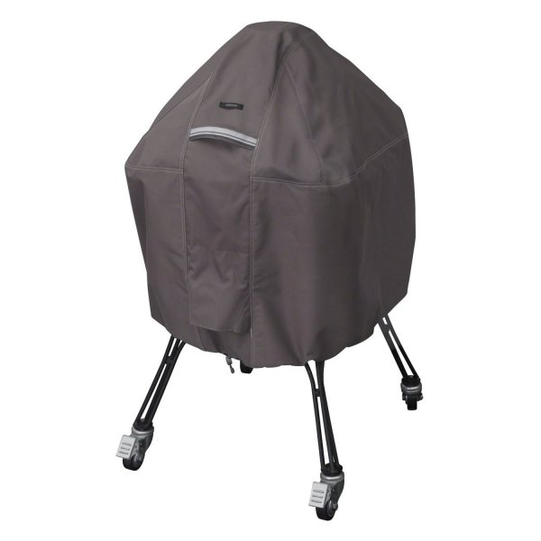 Classic Accessories® - Ravenna™ Taupe Large Kamado Grill Cover for Big Green Egg™ Grill