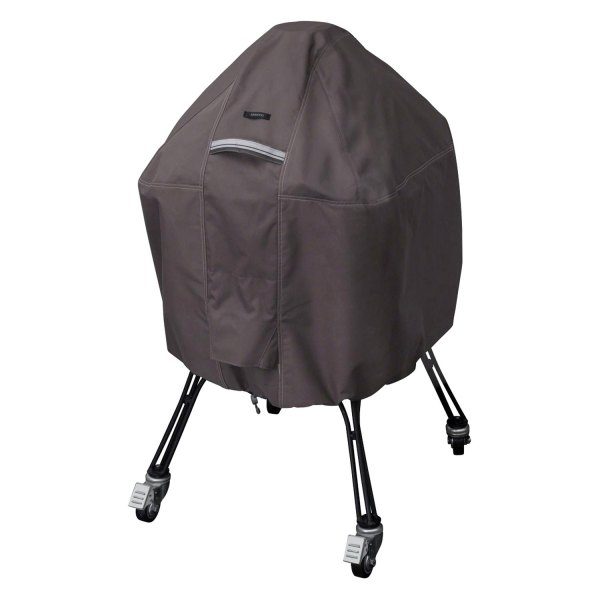 Classic Accessories® - Ravenna™ Taupe X-Large Kamado Grill Cover for Big Green Egg™ Grill
