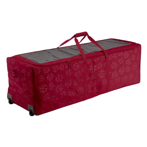 "Classic Accessories® - Seasons™ 58"" x 17.5"" x 17.5"" Cranberry Tree Rolling Bag"