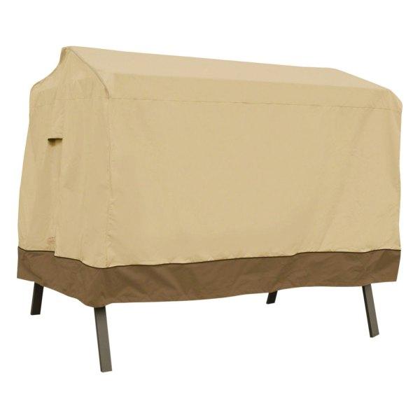 "Classic Accessories® - Veranda™ Rectangular Pebble Patio Canopy Swing Cover (78""W x 60""D x 56""H)"