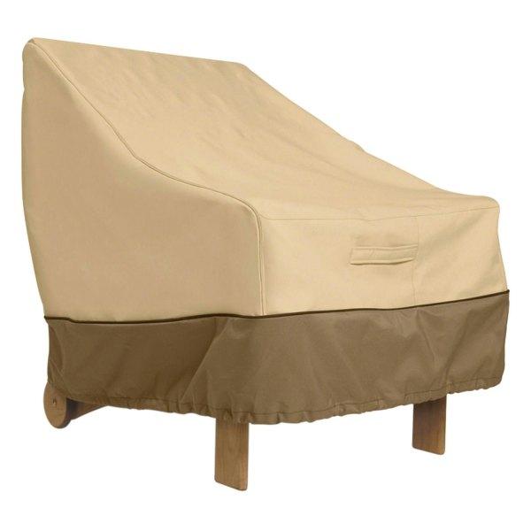 "Classic Accessories® - Veranda™ Rectangular Pebble Standard Patio Chair Cover (25.5""L x 28.5""W x 26""H)"