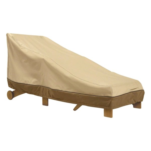 "Classic Accessories® - Veranda™ Rectangular Pebble Patio Chaise Lounge Cover (66""L x 28""W x 27.5""H)"