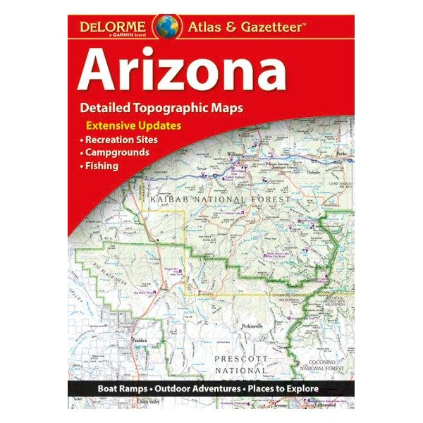 DeLorme® 010-12788-00 - Arizona Atlas & Gazetteer Paper Maps ... on