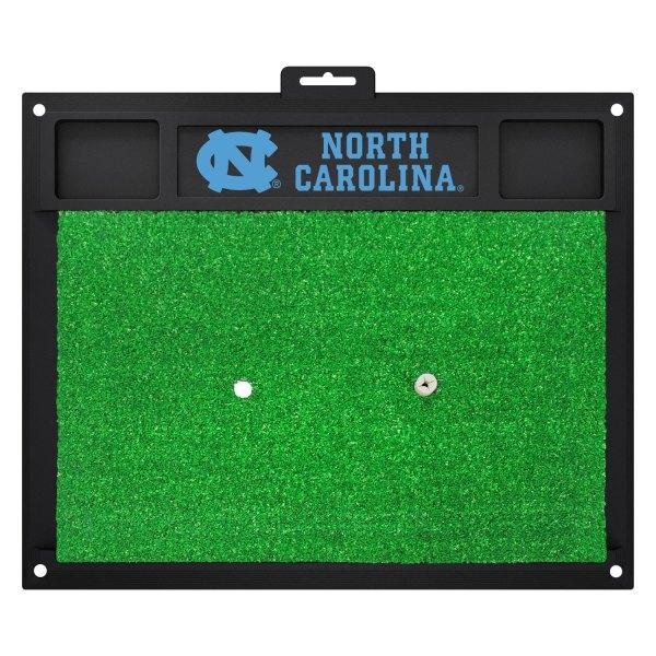 FanMats® - North Carolina University Logo on Golf Hitting Mat