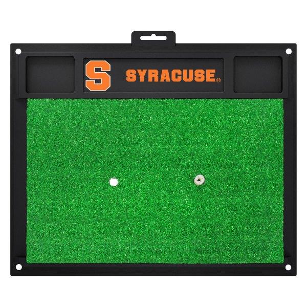 FanMats® - Syracuse University Logo on Golf Hitting Mat