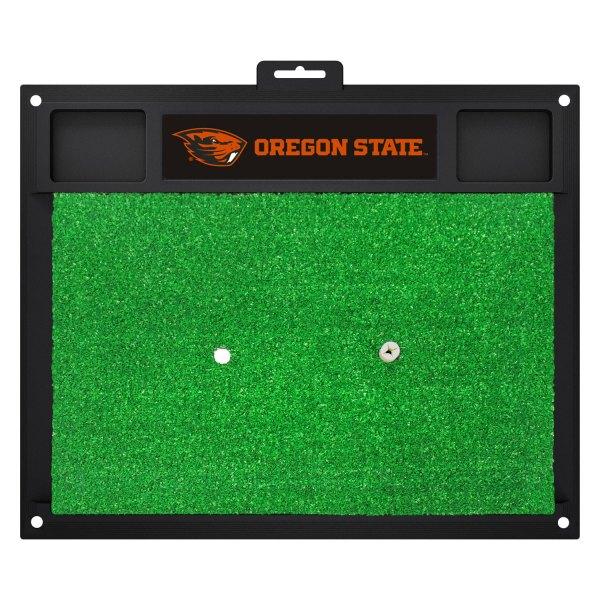 FanMats® - Oregon State University Logo on Golf Hitting Mat