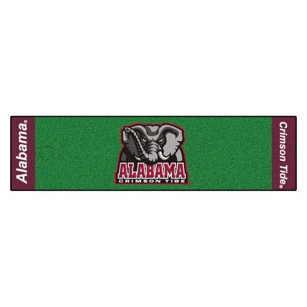 FanMats® - Secondary University Logo on Golf Putting Green Mat
