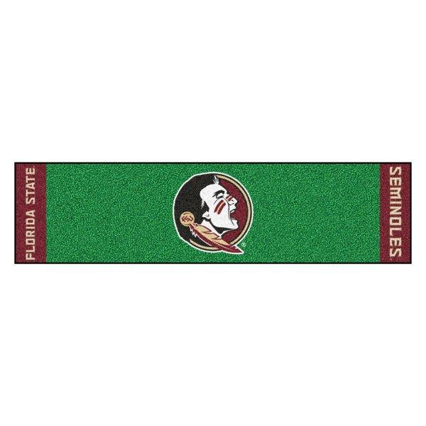 FanMats® - Florida State University Logo on Golf Putting Green Mat
