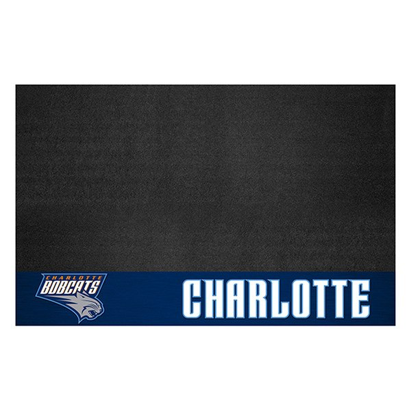 "FanMats® - Grill Mat with ""Hornet"" Partial Logo & ""Charlotte Hornets"" Wordmark"