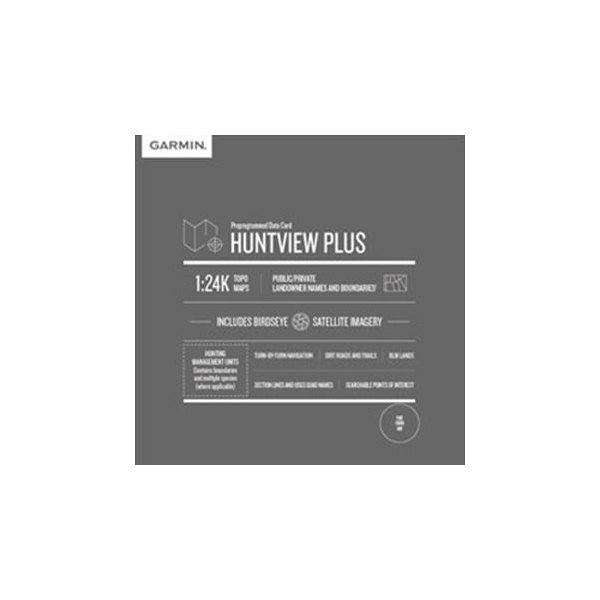 Garmin® 010-12680-51 - HuntView™ Plus 1:24K Scale Maine MicroSD™ Map