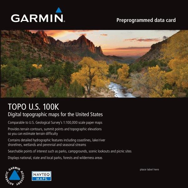 Garmin® - MicroSD™ Map