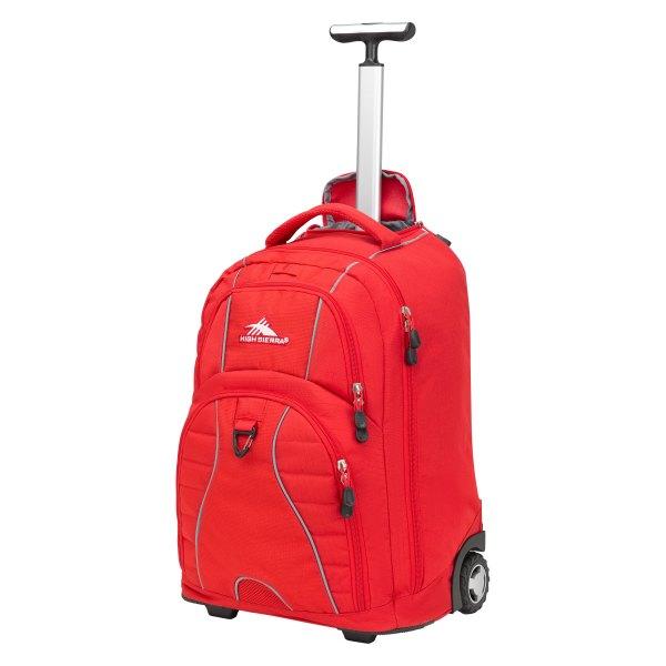 High Sierra® - Freewheel™ 34.5 L Crimson Rolling Backpack