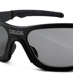 554fd86c7b Liquid Eyewear® - Matte Black Smoke UV Gasket Durable Sunglasses ...