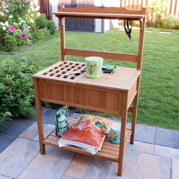 Merry® MPG-PB02 - Potting Bench With Storage