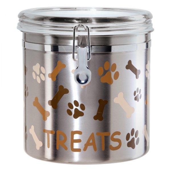 Oggi 8300 Stainless Steel Pet Treats Canister Recreationid Com