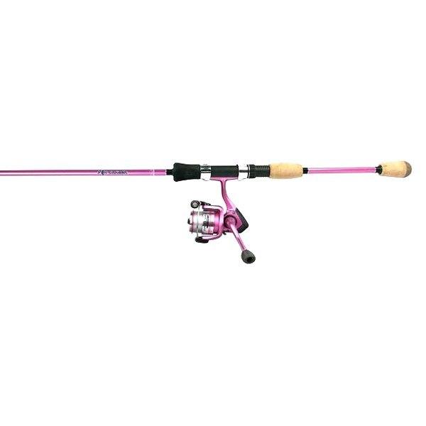 Okuma Fnx 662 30pk Fin Chaser X Series 6 6 Fnx 30 Pink Spinning Rod Reel Combo Recreationid Com