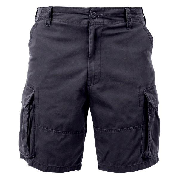 Rothco® - Men's Vintage Paratrooper 3X-Large Black Cargo Shorts