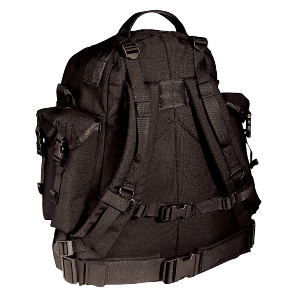 """Rothco® - Special Forces™ 20"""" x 13.5"""" x 7"""" Black Tactical Backpack"""