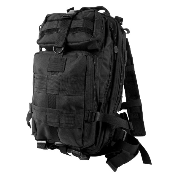 """Rothco® - Transport™ 17"""" x 10"""" x 9"""" Black Tactical Backpack"""
