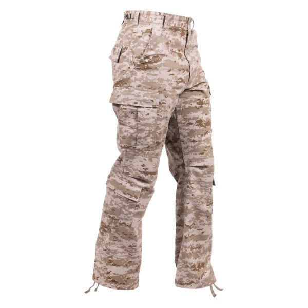 "Rothco® - Vintage Desert Digital Camo Men's Paratrooper Fatigue Pants (47"" Waist)"
