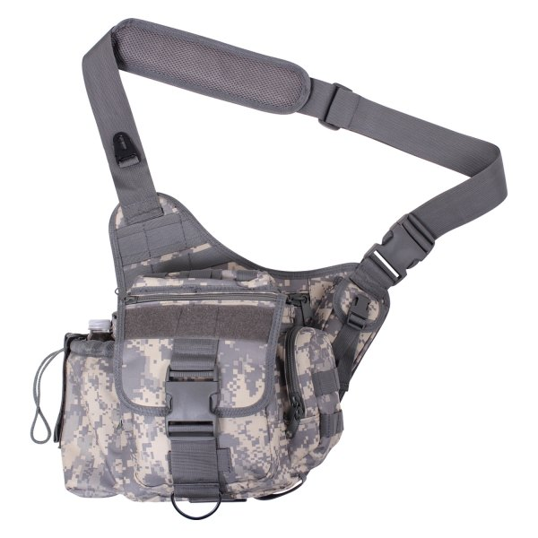 "Rothco® - 8"" x 4"" x 8.5"" ACU Digital Camo Advanced Tactical Shoulder Bag"