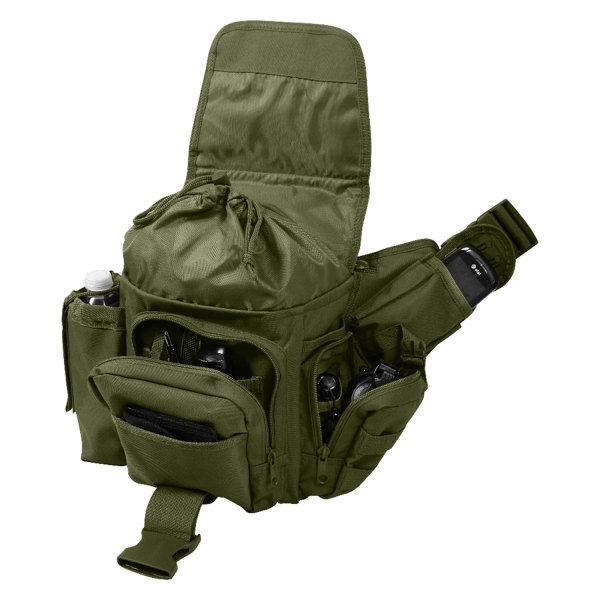 "Rothco® - 8"" x 4"" x 8.5"" Olive Drab Advanced Tactical Shoulder Bag"