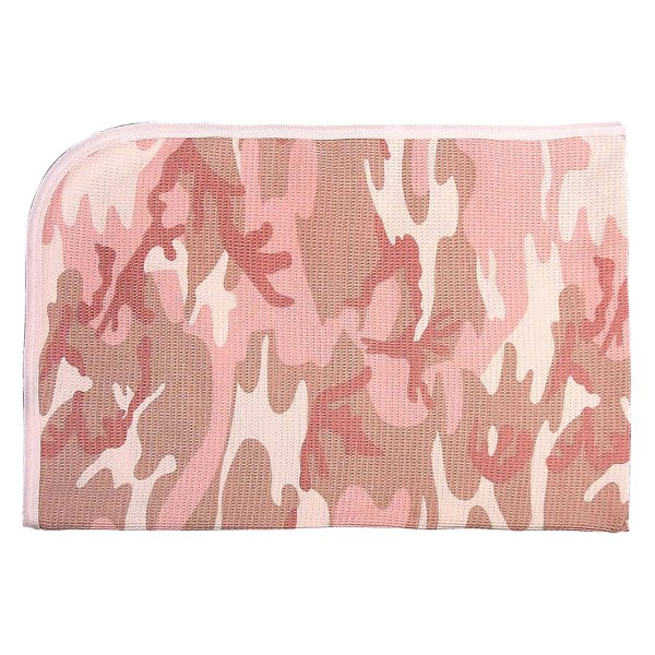 Rothco® - Pink Camo Infant Receiving Blanket