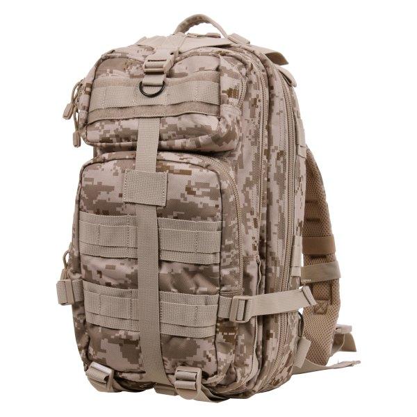 "Rothco® - 17"" x 10"" x 9"" Desert Digital Camo Tactical Backpack"