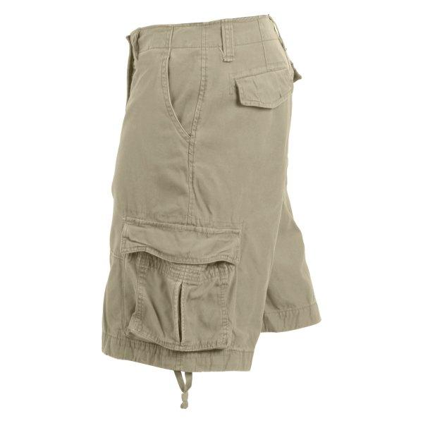 Rothco® - Men's Vintage Infantry 3X-Large Khaki Utility Shorts