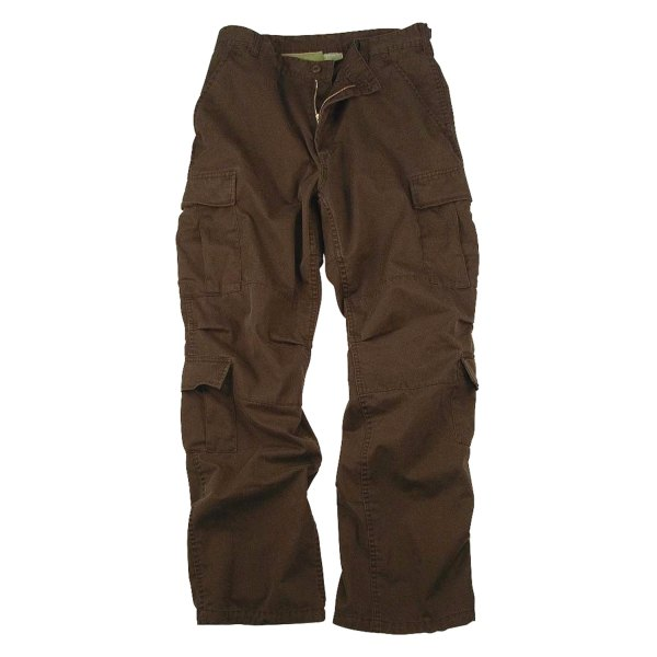 "Rothco® - Vintage Brown Men's Paratrooper Fatigue Pants (51"" Waist)"