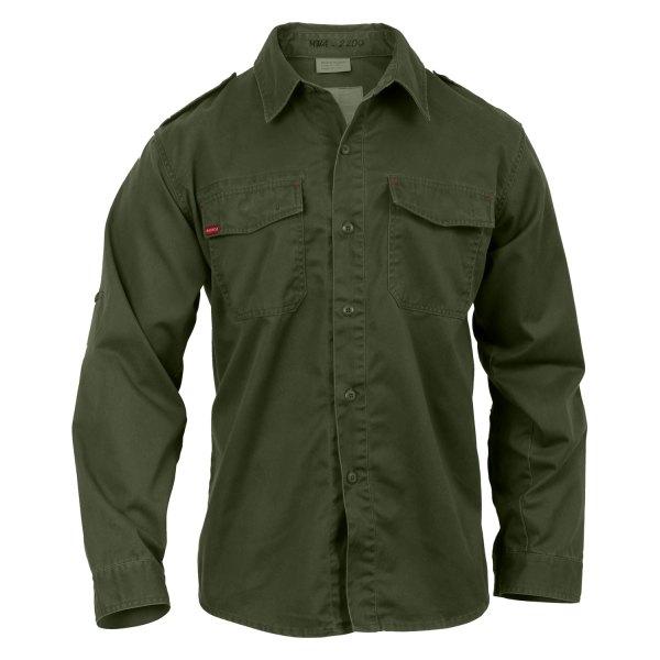 Rothco® - Vintage XX-Large Olive Drab Men's Long Sleeve Fatigue Shirt