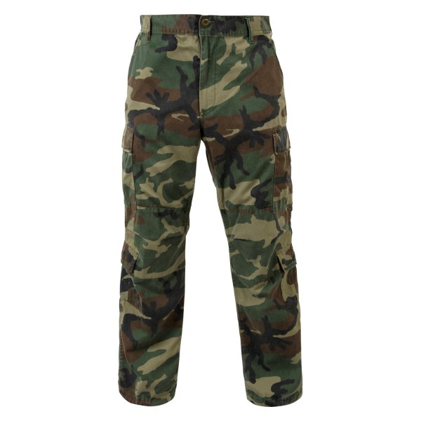 "Rothco® - Vintage Woodland Camo Men's Paratrooper Fatigue Pants (55"" Waist)"