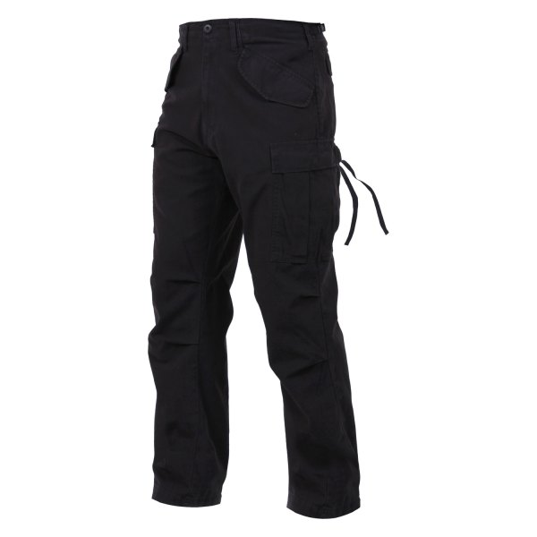 "Rothco® - Vintage M-65 Black Men's Field Pants (47"" Waist)"
