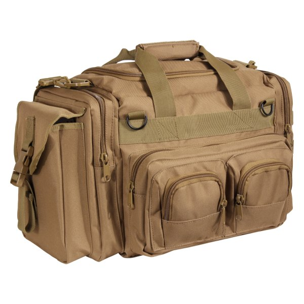 """Rothco® - 12"""" x 7"""" x 10"""" Coyote Brown Concealed Tactical Bag"""