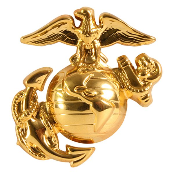 Rothco® - U.S.M.C. Cap Brass Pin