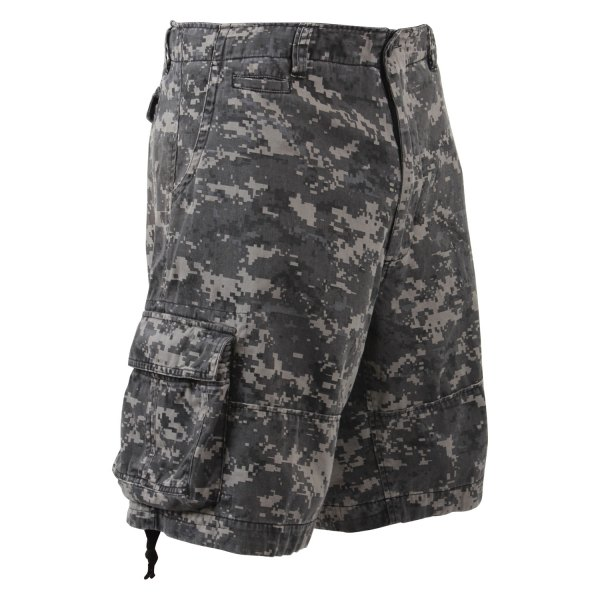 Rothco® - Vintage XX-Large Subdued Urban Digital Camo Men's Infantry Utility Shorts