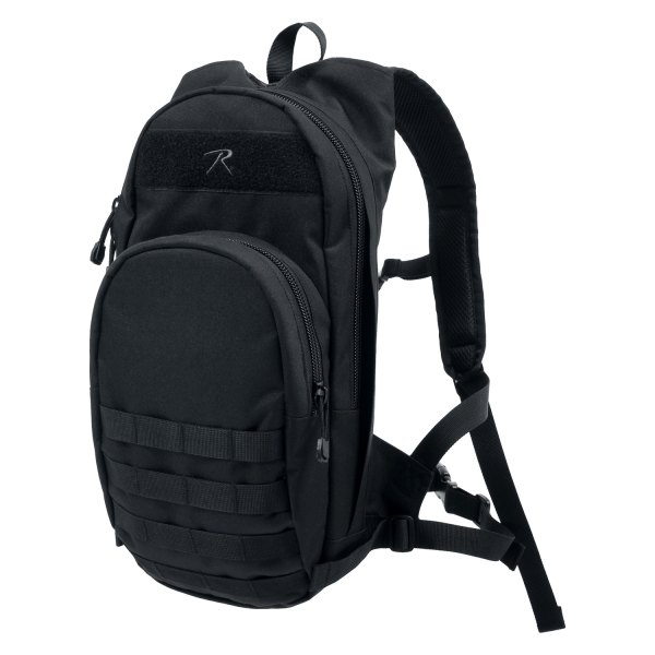 "Rothco® - Quickstrike™ 16.5"" x 8.75"" x 3"" Black Tactical Backpack"