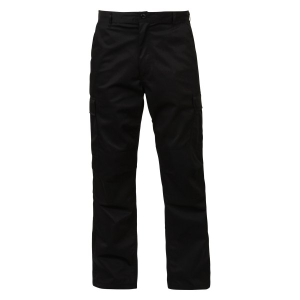 """Rothco® - Black Men's Relaxed Fit Zipper Fly BDU Pants (55"""" Waist)"""
