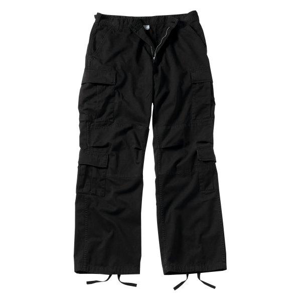 "Rothco® - Vintage Black Men's Paratrooper Fatigue Pants (47"" Waist)"