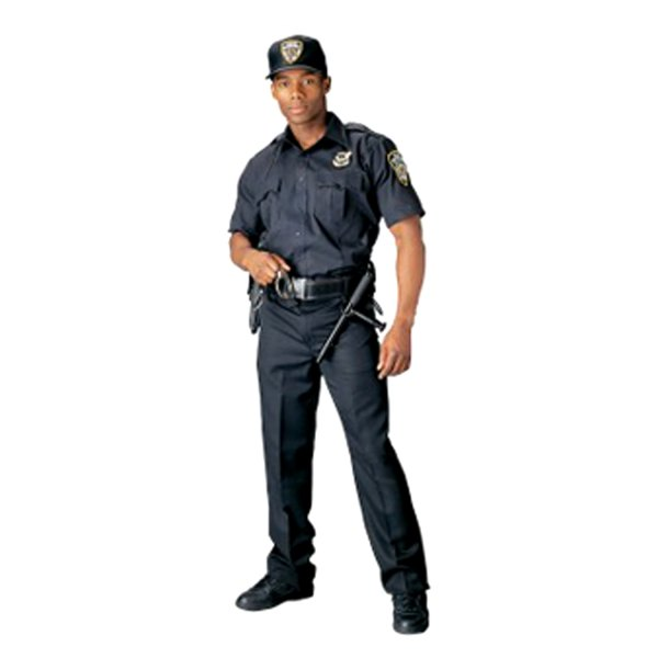 Rothco® - Law Enforcement & Security Professionals 3X-Large Midnight Navy Blue Men's Short Sleeve Uniform Shirt