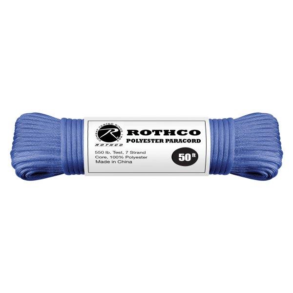 Rothco® - 50' Royal Blue Polyester Paracord