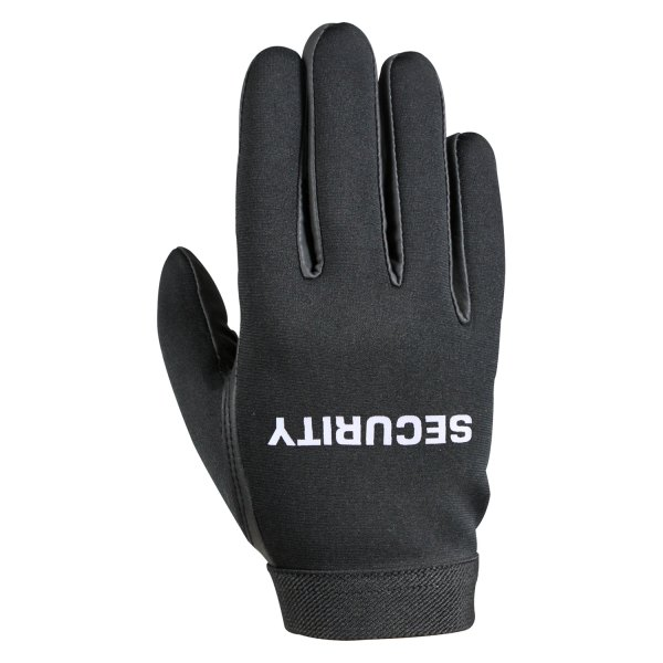 "Rothco® - ""SECURITY"" Medium Black Neoprene Duty Gloves"